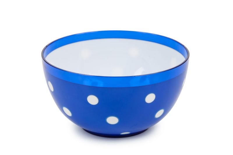 miska 0,7l MARUSYA modrá d13,7x7,3cm, plast