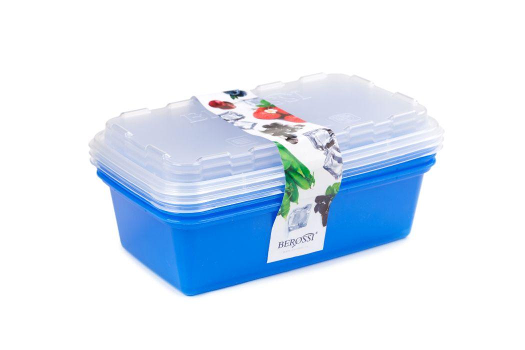 box-sada ZIP 3x1l modrá 20x12x9,5cm, do mraz.,plast