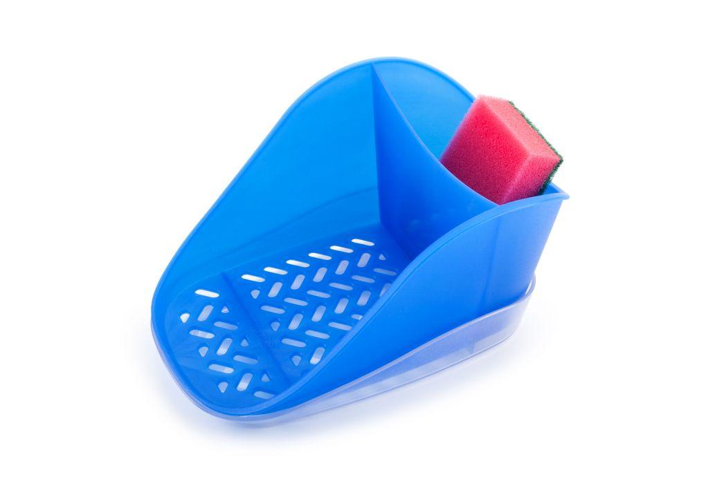 odkapávač houb.+prostř., modrý TEO PLUS, 19x12,7x10cm