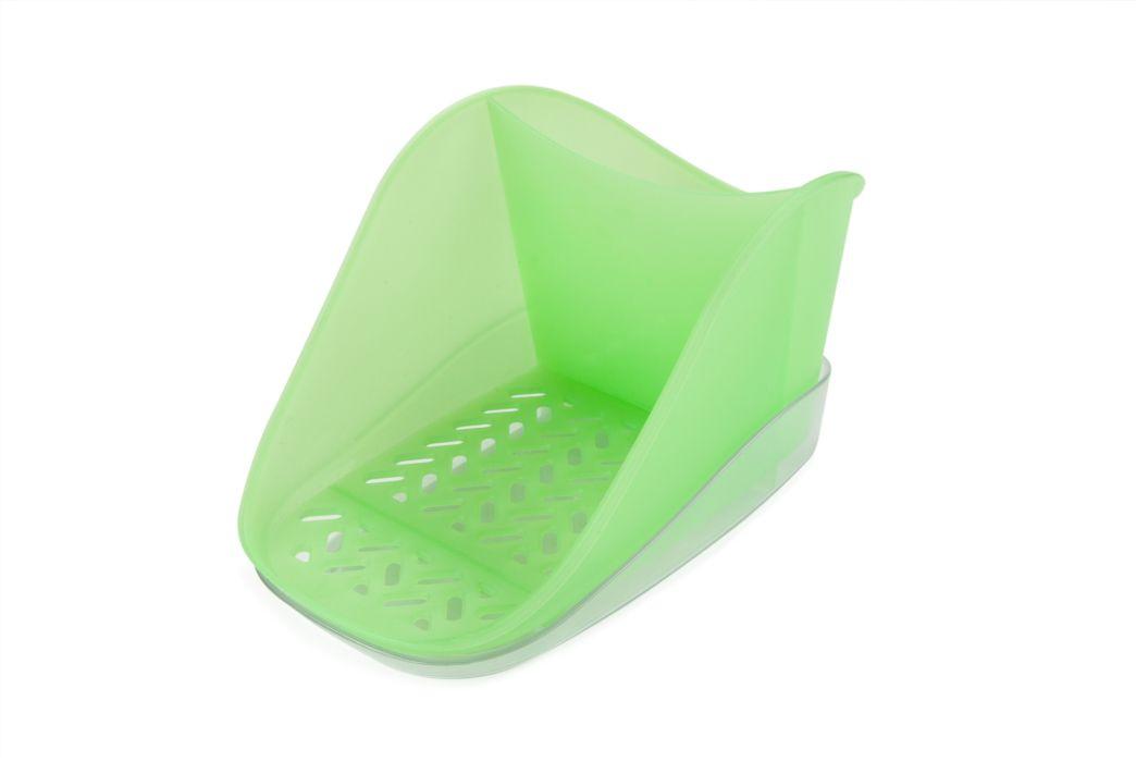 odkapávač houb.+prostř. zelený TEO PLUS, 19x12,7x10cm