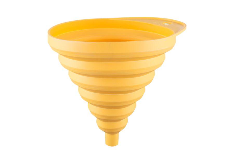 nálevka d13x15,4x12,8 (složená 3cm) žlutá