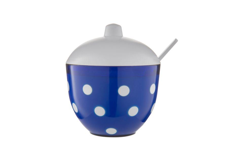 cukřenka MARUSYA modrá, 11,4x9,7x11,8cm