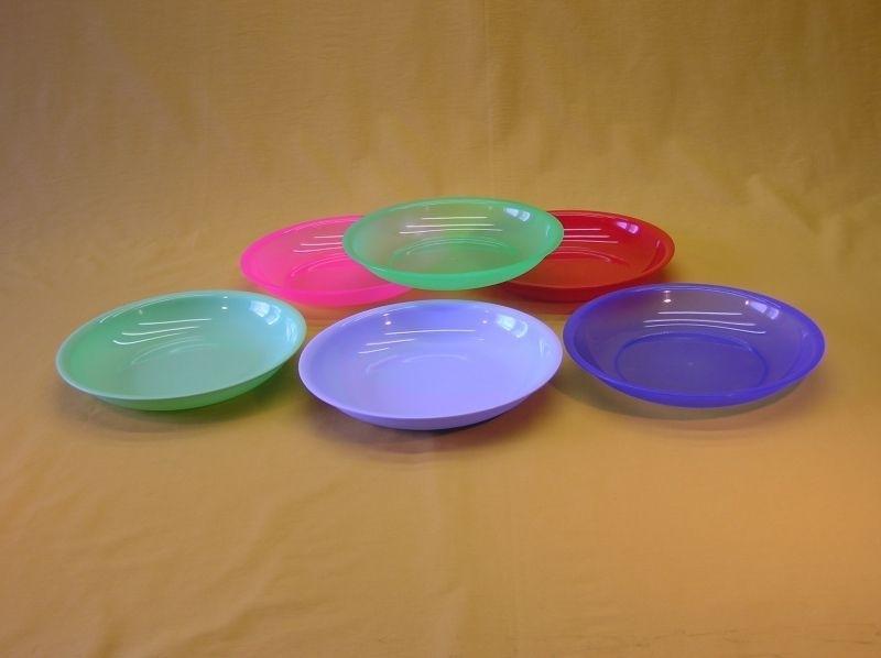 talíř d19cm hluboký, plast