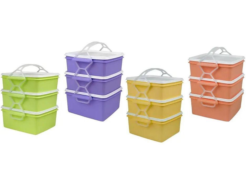 jídlonosič 2x1,2l+1,4l čtver.KOMBI