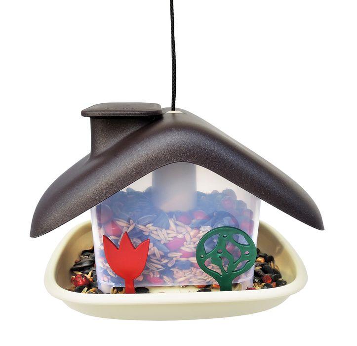 krmítko DOMEK-hnědé pro ptáky