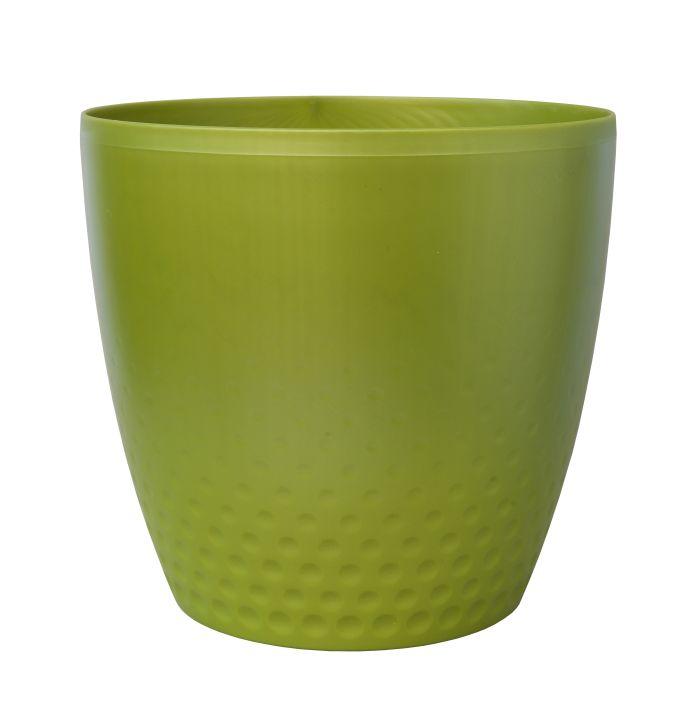 obal d25cm Perla zelená perleť