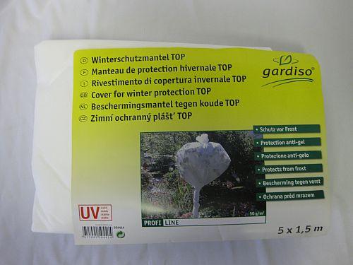 plachta zimní ochranná bílá 5x1,5m