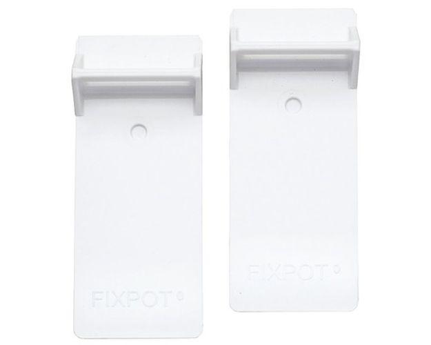 adaptér drž.truhl.FIXPOT-bílá(1pár),plast