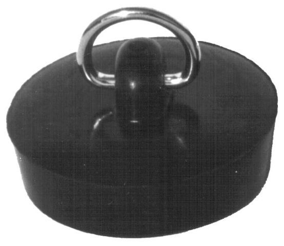 zátka dřez-d43/1/1/2 palce, černá