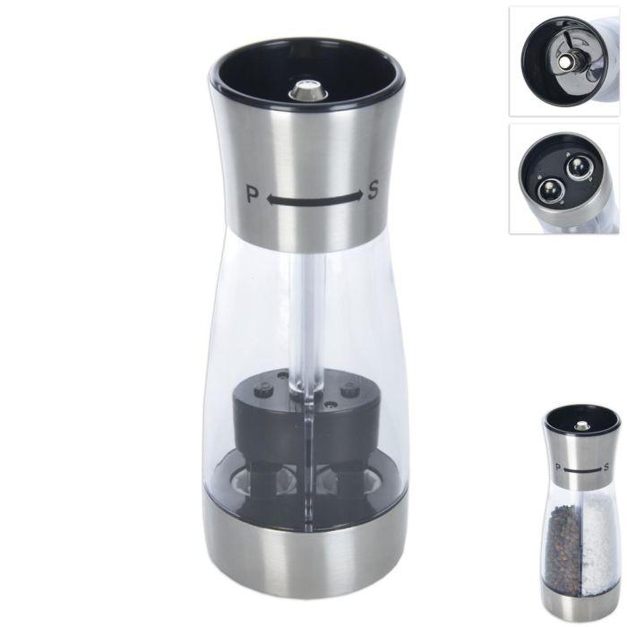 mlýnek na pepř+sůl,d7,v18cm,mech.,plast