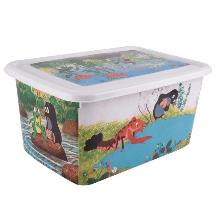 box 26l KRTEK, dětský 46x33,5x22cm, plast