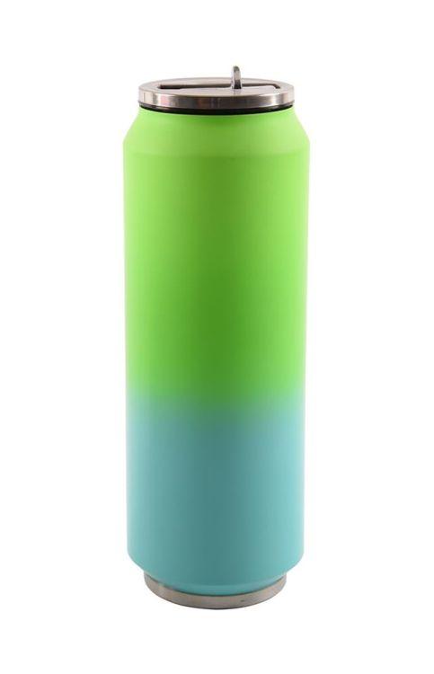 termoska 0,7l NR PLECHOVKA FITNESS, zelená