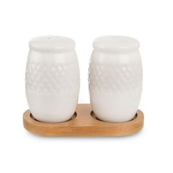 slánka+pepř.2-dílná porcelán/bambus