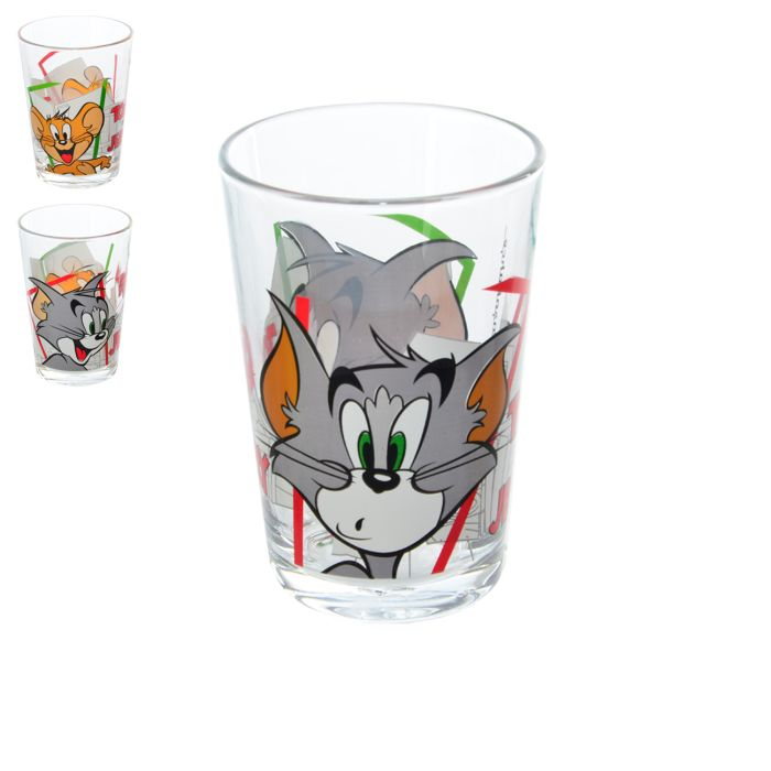 sklen.3ks 200ml děts.TOM a JERRY