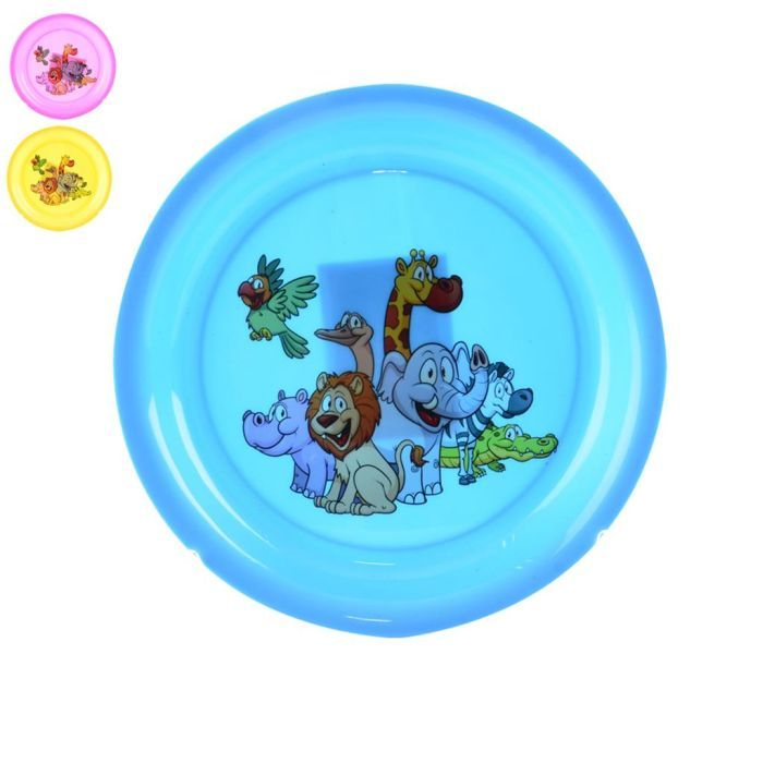 talíř d21,0cm hlubší, DEKOR dětský, plast