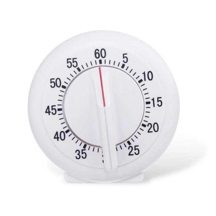 minutník d9cm, kul., mechan., plast