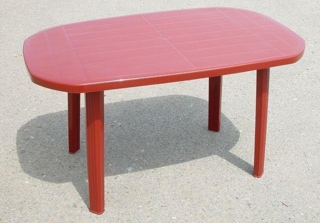 stůl ov.bordó 135x85cm