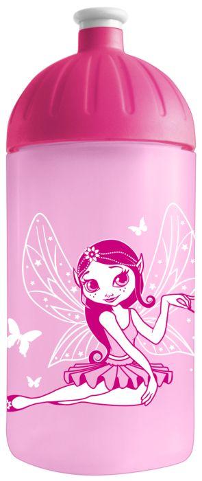 FreeWater lahev 0,5l VÍLA růžová