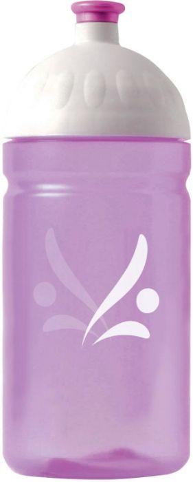 FreeWater lahev 0,5l LOGO fialová