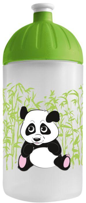 FreeWater lahev 0,5l PANDA transparentní