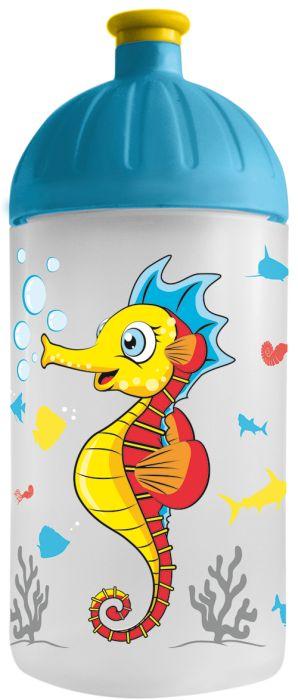 FreeWater lahev 0,5l Mořský koník transpar.