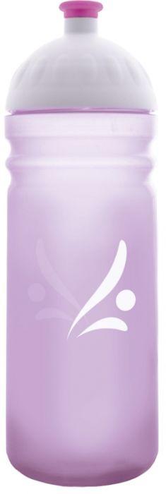 FreeWater lahev 0,7l LOGO fialová