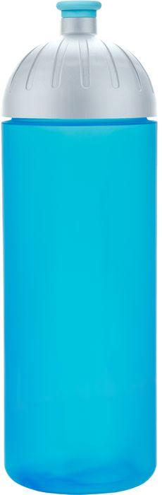 FreeWater lahev 0,7l TYRKYS+víčko stříbrné