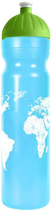 FreeWater lahev 1,0l SVĚT modrá