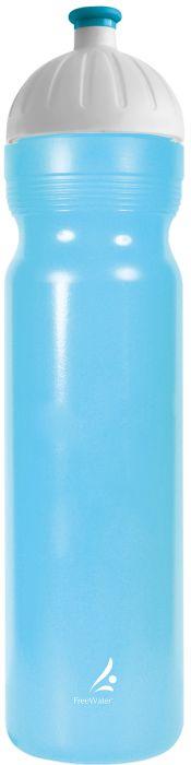 FreeWater lahev 1,0l LOGO malé modrá