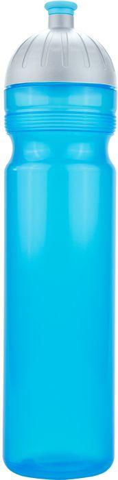 FreeWater lahev 1,0l TYRKYS, víčko stříbrné