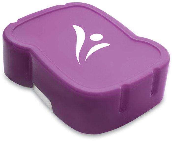 FreeWater box 0,8/1,2l LOGO fialový