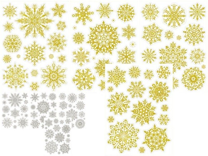 dekorace vánoční 20x30cm na okna