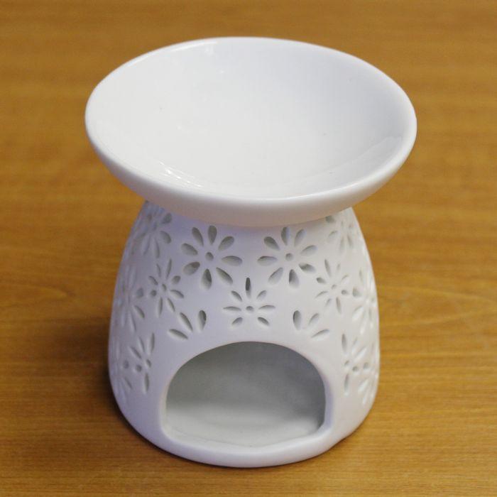 lampa-aroma d10,5x11,5m BÍLÁ, keramika