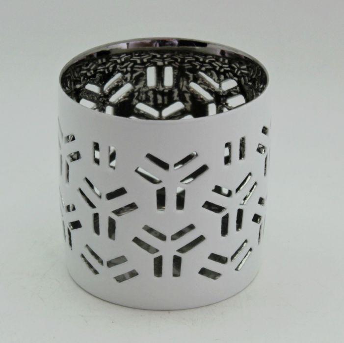 svícen d 7,0/v. 7,0cm, bílý, porcelán