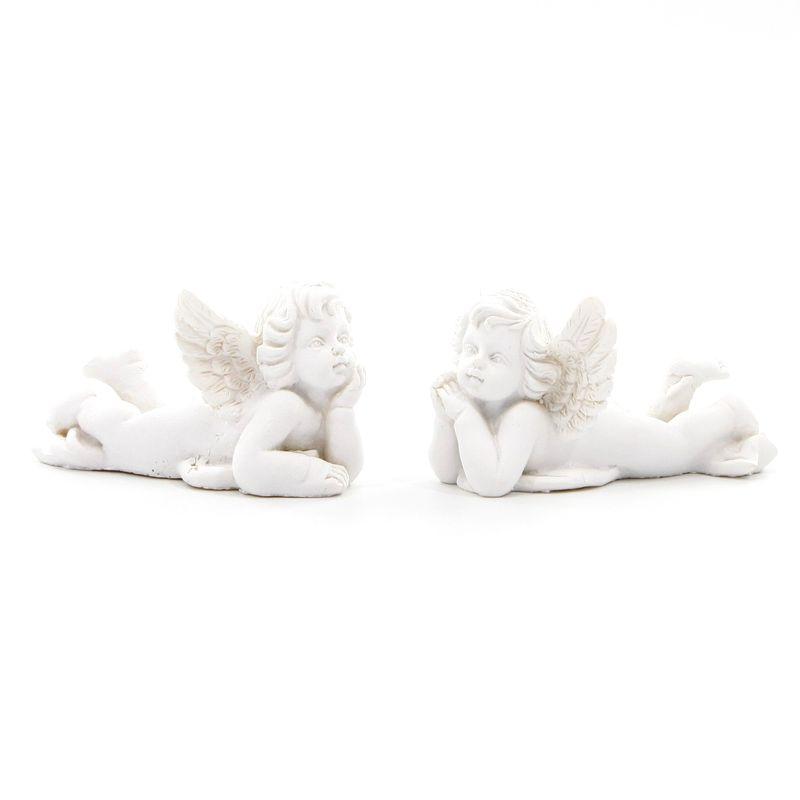 anděl  9cm sádra/cement
