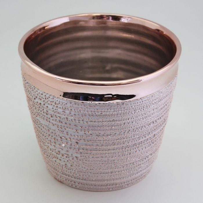 obal d9,6, v8,6cm r…§ov' zlato, keramika