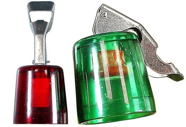 zátka lahví transp.s otvírákem