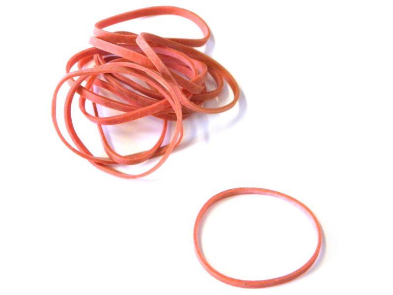 gumičky červené 20ks/bal 4cm/4