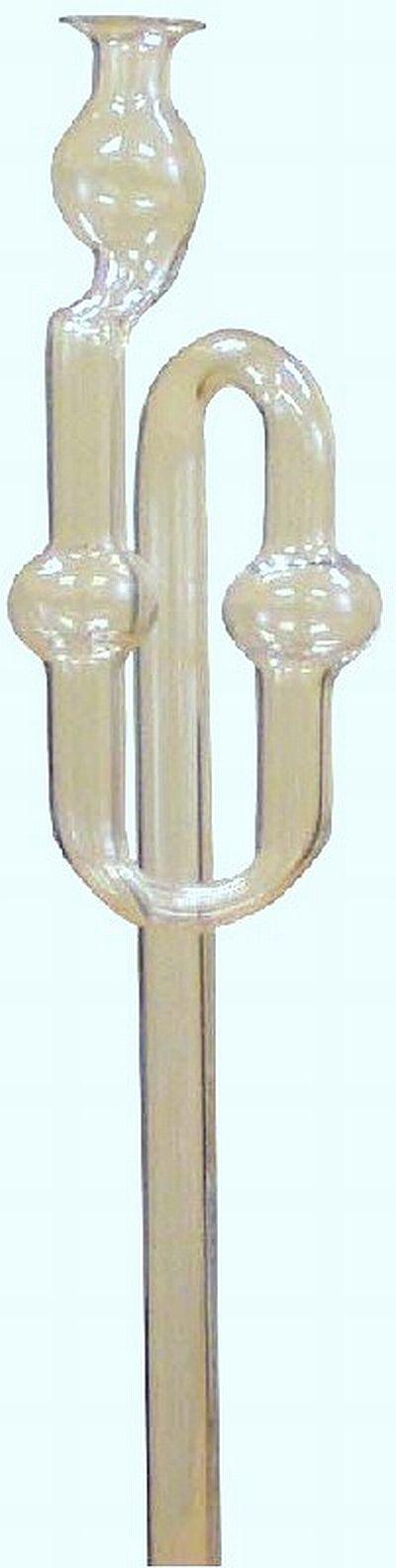 zátka-rourka kvasná 19cm, sklo