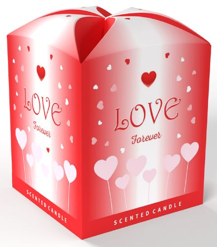 svíčka 1ks vonná EXCLUSIVE LOVE, 100g
