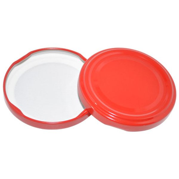 víčko TWIST  66-10ks červené na sklen.377ml