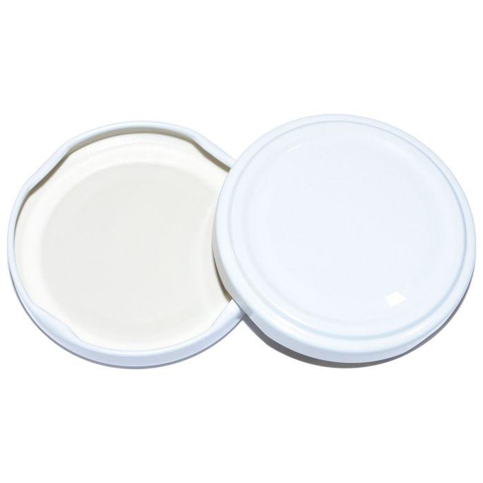 víčko TWIST  70- 1ks-bílé