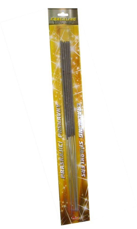 prskavky ván.40cm (10ks) práskající