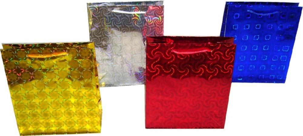 taška dárková M, 18x23x10cm, laser.papír