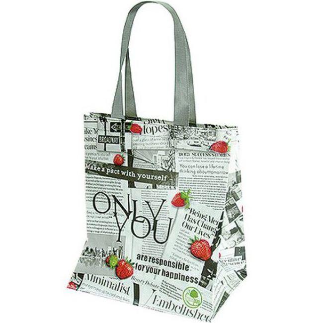 taška 25,0l nákup., růz.rozměry, MIX dekor, lamino