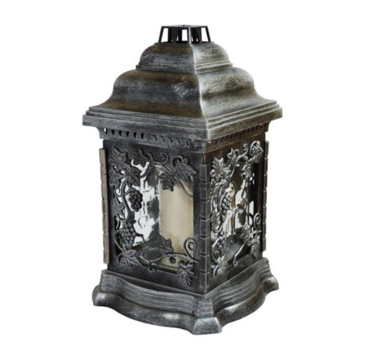 svíčka  1ks LAMPION LA207-VÍNO 26cm, 100g, hřbit.
