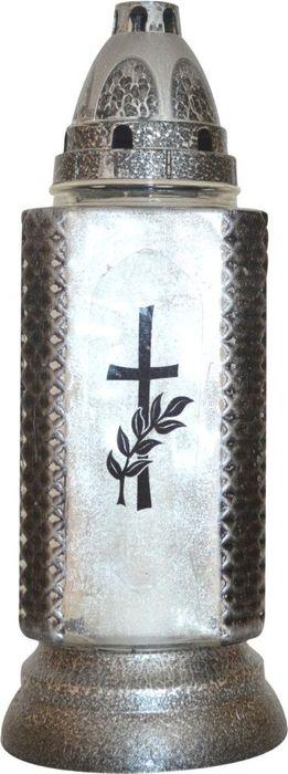 svíčka-lampa 1ks LA364MA, 130g, 28cm, hřbitovní