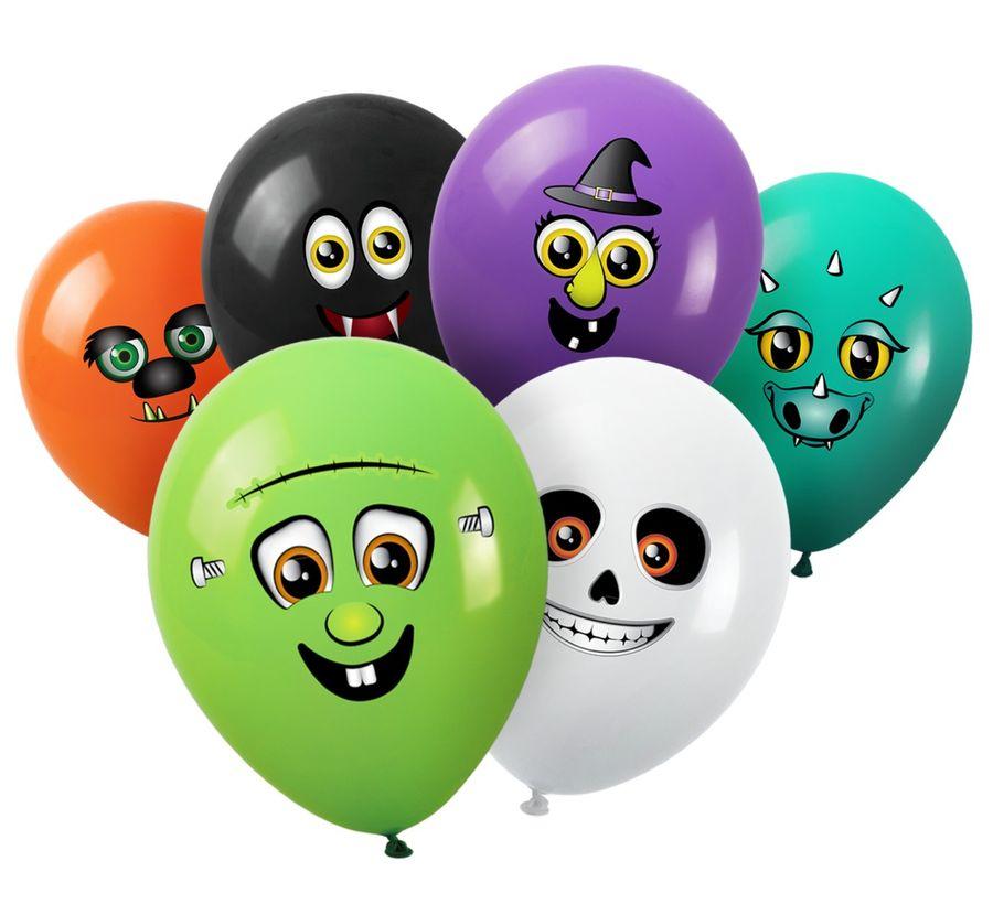 balónky 6ks PŘÍŠERKY