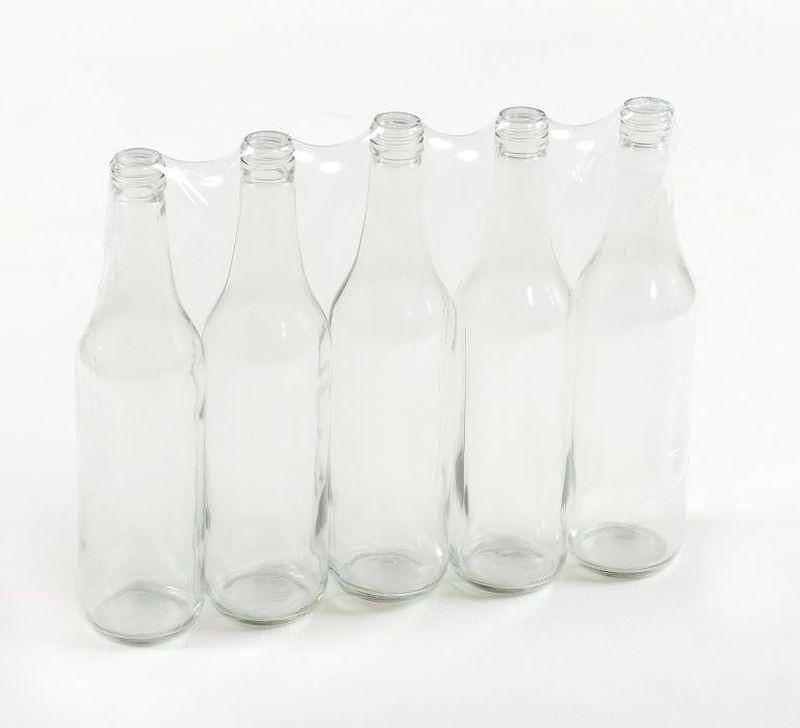 láhev 0,7l LIEH- 5ks,(SPIRIT), šroubení, sklo