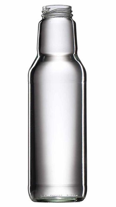 láhev 0,75l SOK - 1ks, šroubení, TO43, sklo